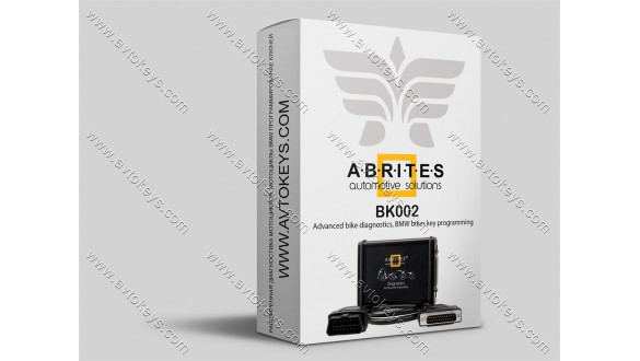 Специальная функция BK002, Advanced bike diagnostics, BMW bikes key programming, для программатора AVDI, ABRITES